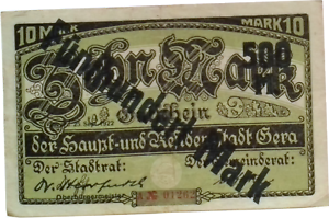 Germany 500 Mark 1922