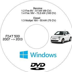 manuale officina fiat 500 in italiano assistenza riparazione e rh ebay it manuale officina fiat 500 manuale officina fiat 500 f pdf