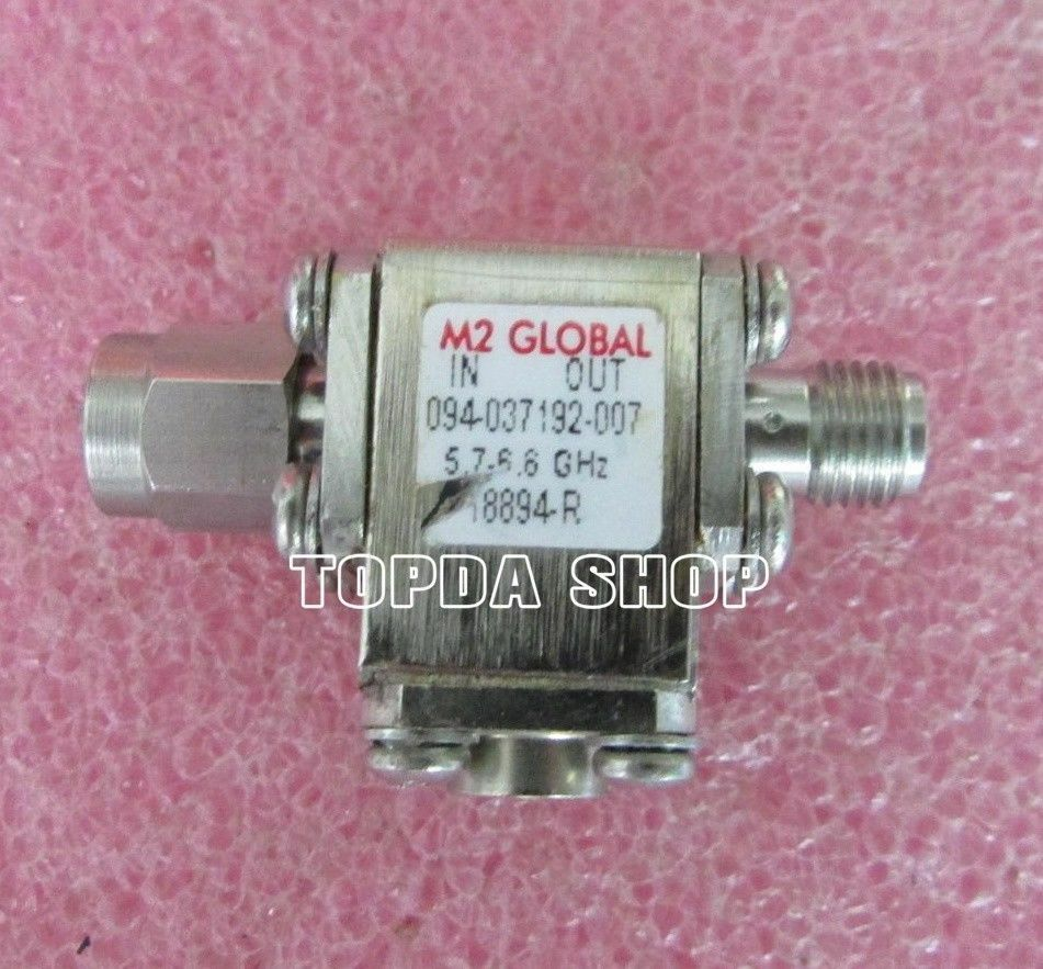 M2 GLOBAL 5.3-6.8GHz 20dB SMA RF RF coaxial isolator
