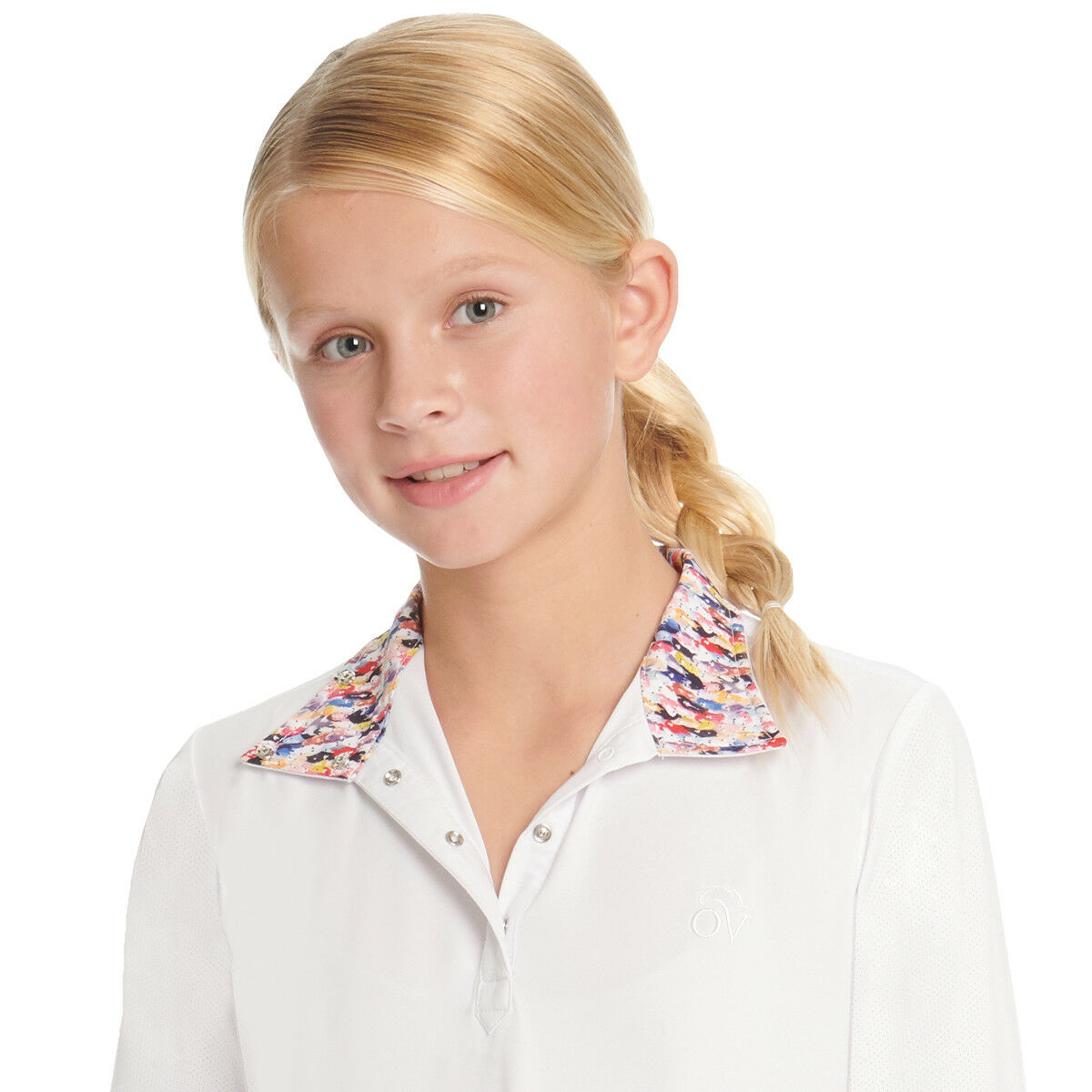Ovation Ellie Tech Girls Show Shirt -  Long Sleeve - OMG Ponies - Differ Sizess  discount promotions
