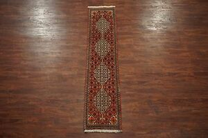 2X8-Persian-Bidjar-Runner-Hand-Knotted-Oriental-Wool-Rug-Carpet-1-8-x-7-10