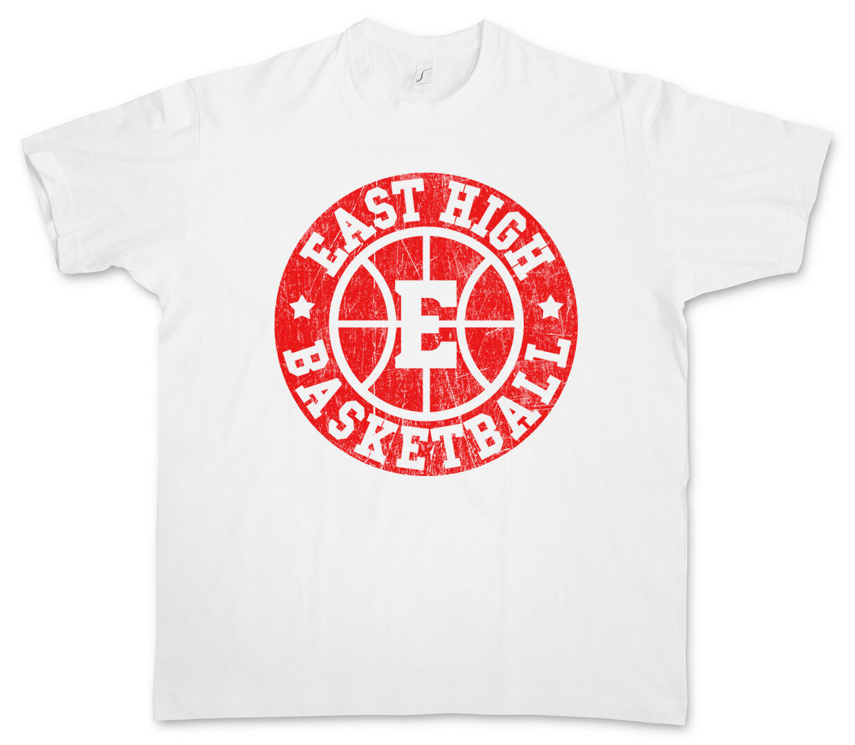 East High basket II T-shirt Logo équipe School Logo T-shirt Sign Symbole Musical c68e8c