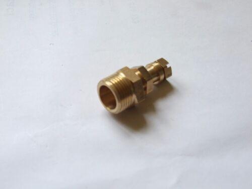 Gas test nipple 3//8 BSP LPG or natural Gas.