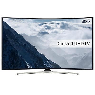 Samsung UE55KU6100, TV LED Curvo, Ultra HD 4K, 55''