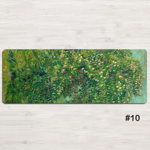 Painting by Vincent van Gogh Mouse Pad Large Size Mousepad 40 Models 80x30cm