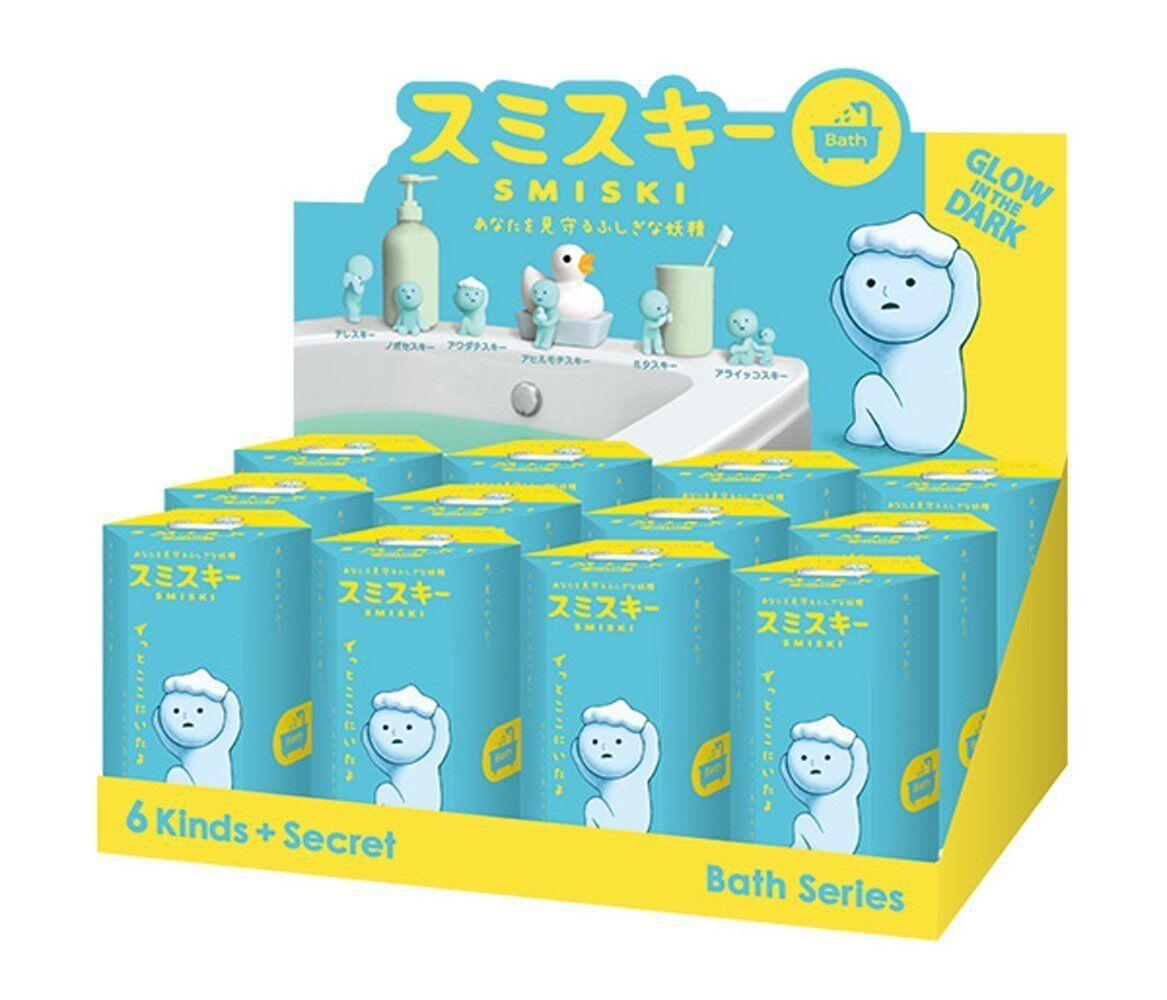 Smiski Glow In The Dark Bathroom Series Secret Mini Figure Case Set of 12