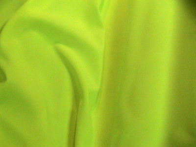 Lime Green Bi -Stretch Polyester Suiting Dress Fabric FREE P+P SOLD BY THE METRE