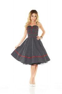 38aaab8c920a40 Das Bild wird geladen 50er-Jahre-Rockabilly-Kleid-Patsy-Vintage-50-039-