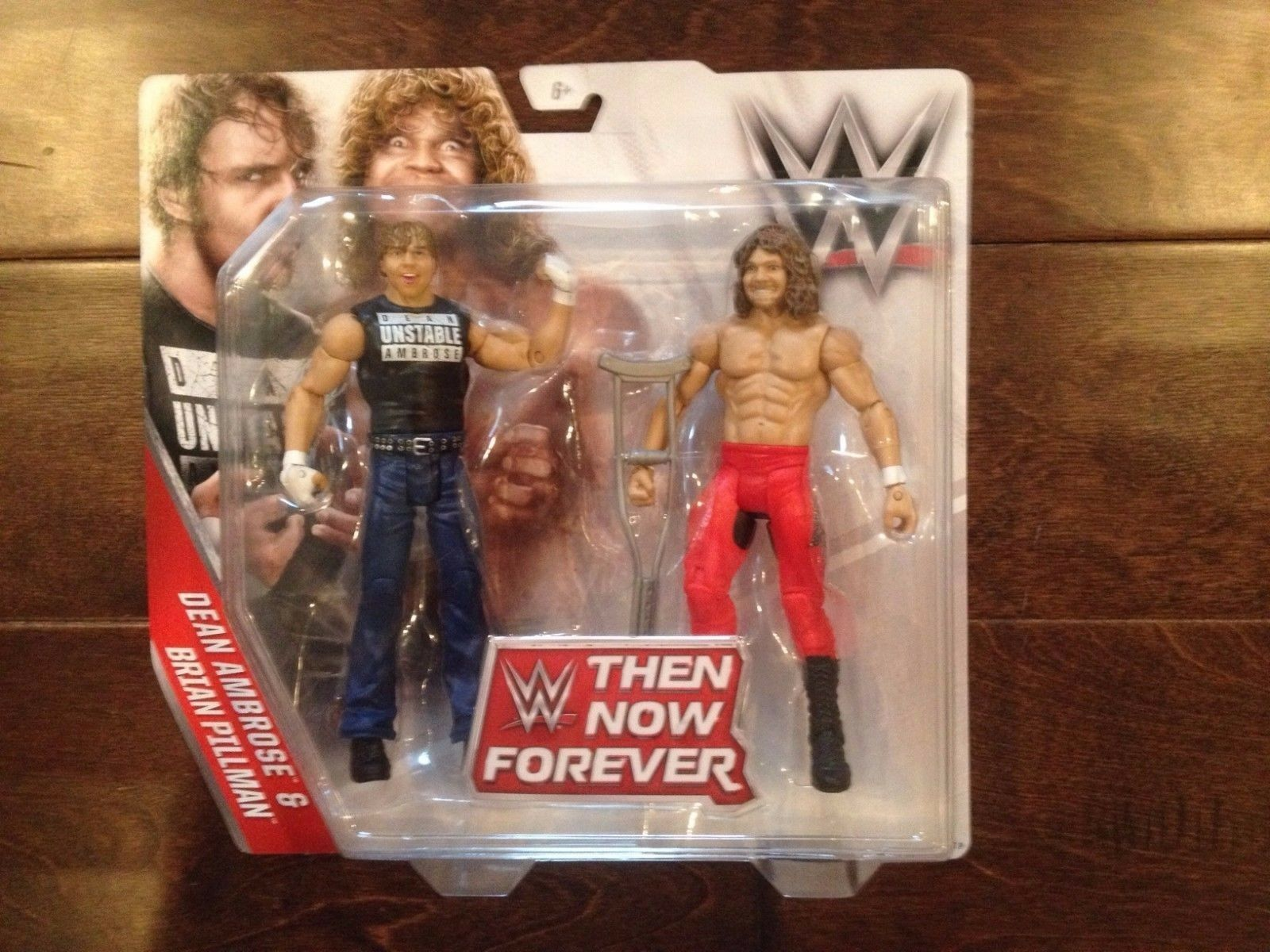 WWE Then Now Forever Loose Cannons - Dean Ambpink, Brian Pillman  NEW