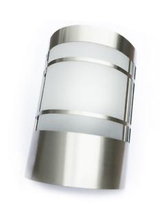 LED-Edelstahl-Aussenleuchte-Aussenlampe-Wandleuchte-Lampe-Edelstahl-Glas-1010C