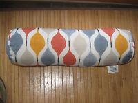 Improvements Outdoor Bolster Pillow