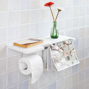 Sobuy Dérouleur Papier Toilette Distributeur Wc Porte Papier Mural