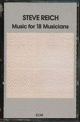 Steve Reich - Music For 18 Musicians (CUTOUT) (Cassette Tape) *BRAND NEW/SEALED*