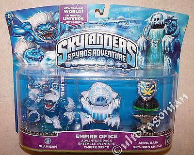 EMPIRE OF ICE Skylanders Spyro/'s Adventure Pack Slam Bam Anvil Rain Shield NEW