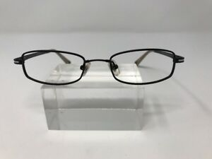 3a5f2409373 Image is loading Marchon-Flexon-Eyeglasses-47-18-135-Black-White-