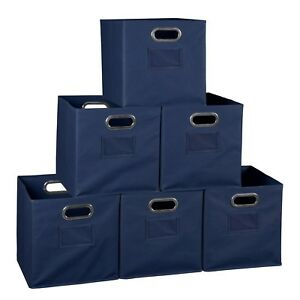 Bon Image Is Loading File Storage Bins 6 Cube Closet Organizers And