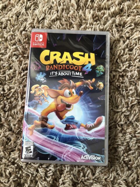 Crash Bandicoot 4: It's About Time Nintendo Switch, Brand New Sealed
