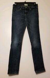 Para Mujeres Pantalones Aeropostale Ultra Estrechos Ajustados Jeans De Superdry Ashley Azul Talla 5 6 Ebay