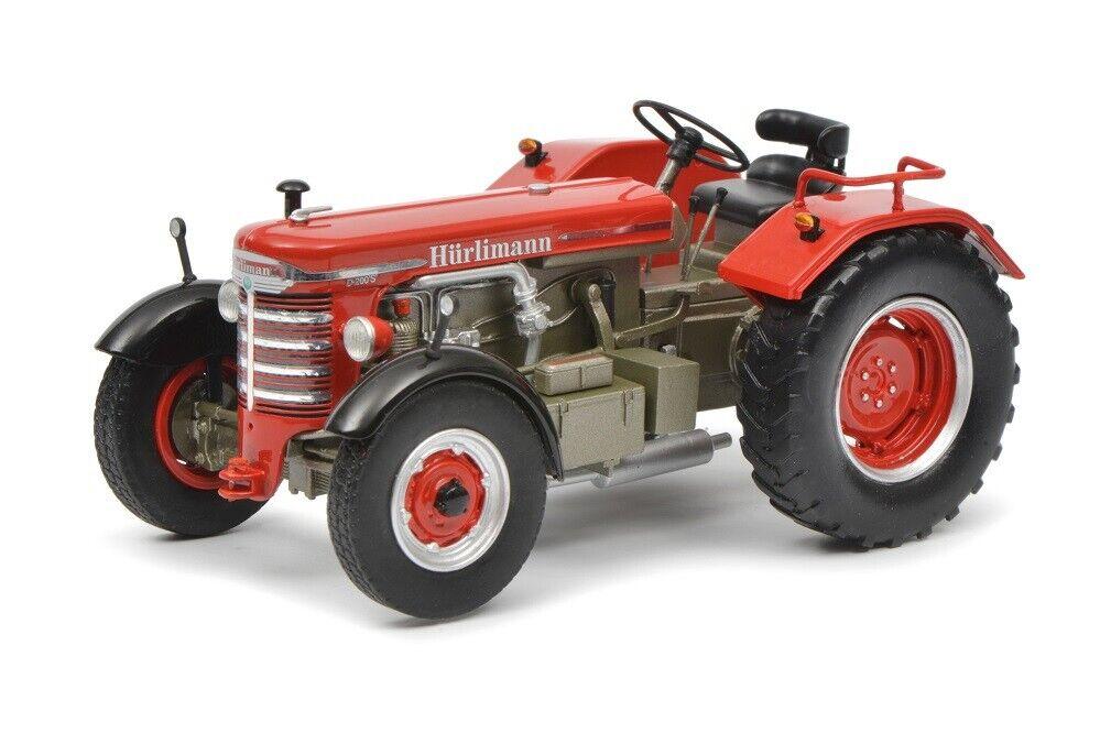 Schuco Pro. R 09043 - 1 32 - Hürlimann D 200 S-Rouge-Neuf
