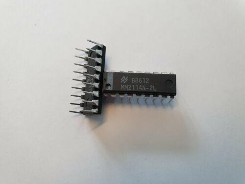 MM2114N-2L National Semic SRAM 1Kx4 DIL-18 MM 2114 N2L