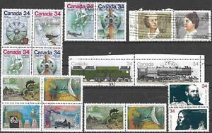 Kanada gestempelt #1373/4 >> ZD aus Jahr 1985-1989 <<