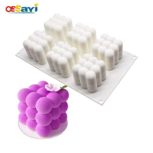 Silicone Magic Ball Mousse Cake Mold Baking Mold Cube Hive Dessert Fondant Tools