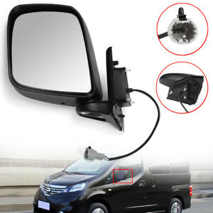 Left-Side-Electric-Wing-Mirror-Black-For-Nissan-NV200-2010-2016
