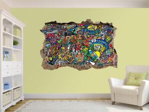 Panorama of beautiful beach photo Hole in wall sticker wall mural 49024063