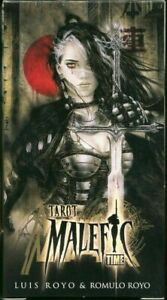 New-78-Malefic-Time-Tarot-Gothic-Fantasy-Oracle-Cards-Deck-Kit-Set-By-Luis-Royo