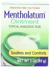Mentholatum Original Topical Analgesic Ointment Aromatic Vapor Rub 3oz