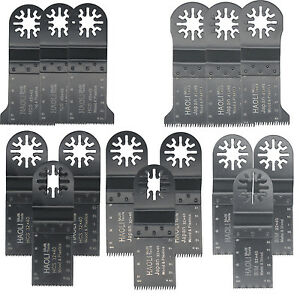 9pcs 32mm Japan tooth oscillating  Blades for Fein Multimaster,Dewalt,Black
