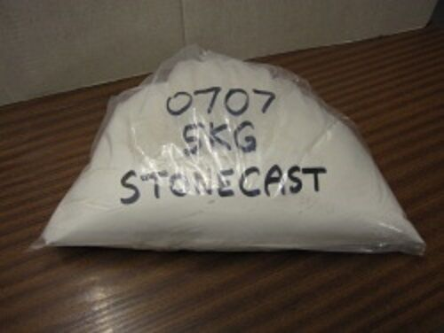 SUPERCAST REF 0707  5KGS STONECAST CASTING PLASTER IDEAL FOR CHESS SETS ETC