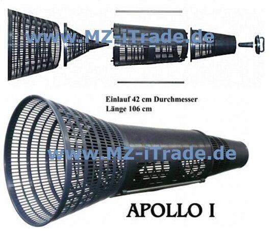 Aalreuse Aalkorb Reuse APOLLO I 1 x10 x10 x10 Stk Bausatz f.Händler,Vereine,Großabnehmer 51445d