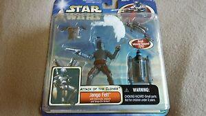 Star Wars. Jango Fett Figure With Electronic Jet Pack.