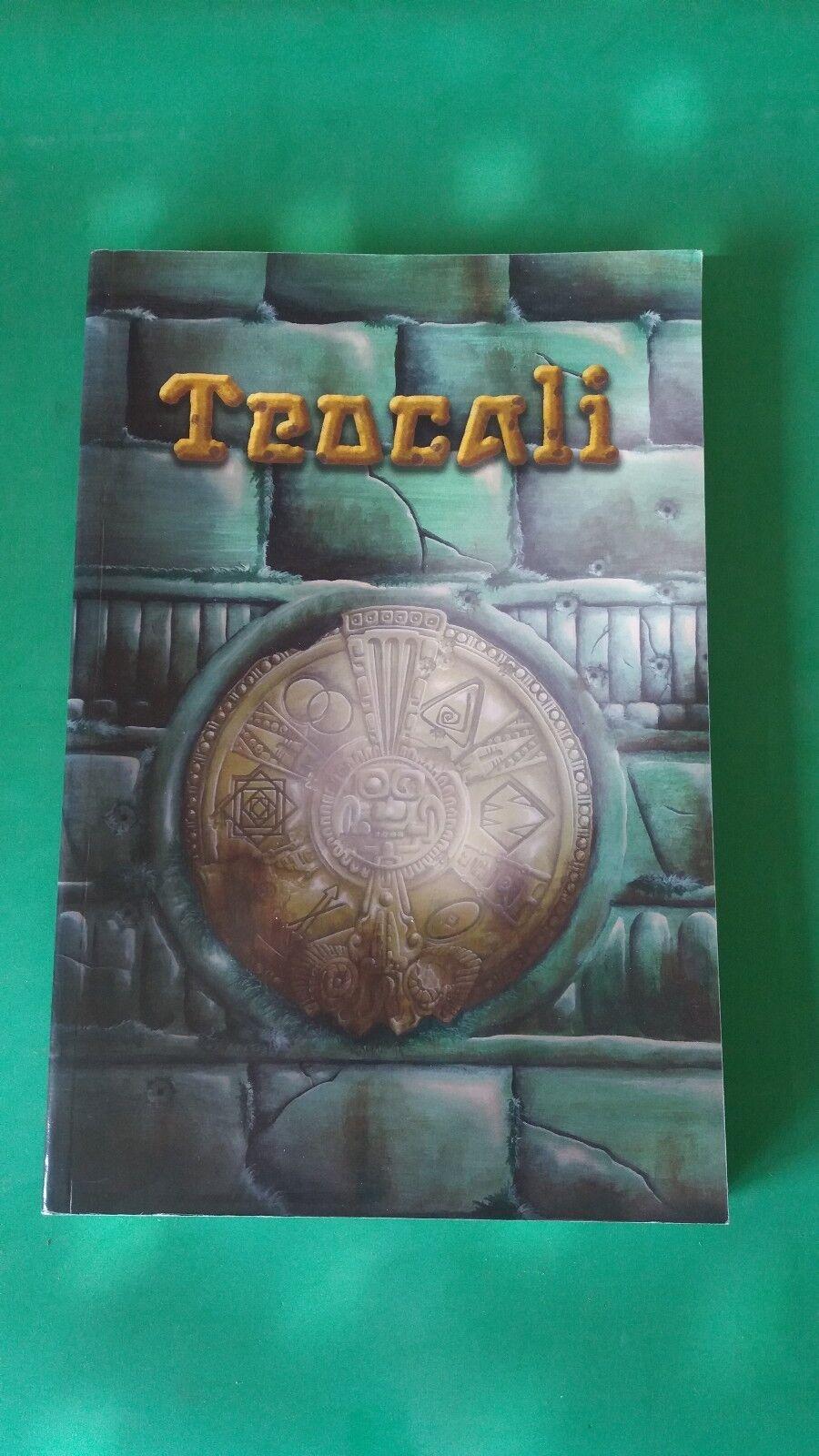 Teocali - Jeu de Rôle - Editions Footbridge (2012)