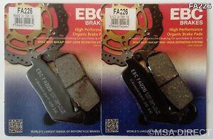 2x Sets EBC FA226 Front Brake pads Honda CB CB600 Hornet non ABS  1998 to 2013