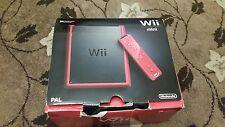 Nintendo Wii Console Rosso Mini
