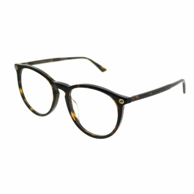 f1da7048626 Gucci Gg0027oa 002 Havana 52mm Eyeglass Frame Authentic for sale ...