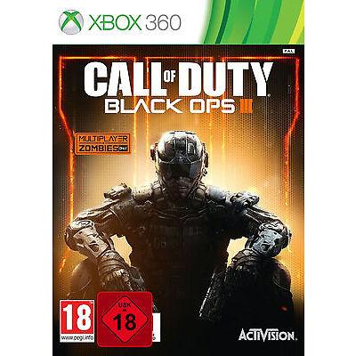 XBOX 360 Call Of Duty Black Ops III 3 100% UNCUT NEU&OVP Paketversand