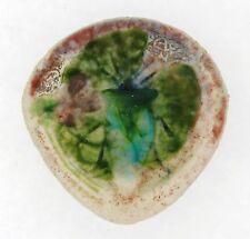 Antique A. Walter Nancy Pate De Verre Insect Floral Art Glass Pendant
