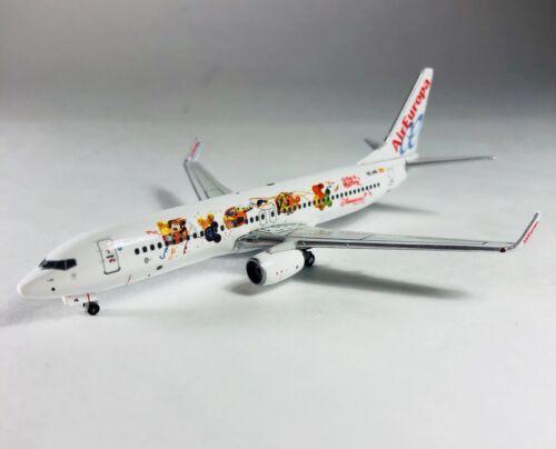 Phoenix 1//400 AirEuropa Airlines 737-800 EC-JHL Disneyland Resort Paris