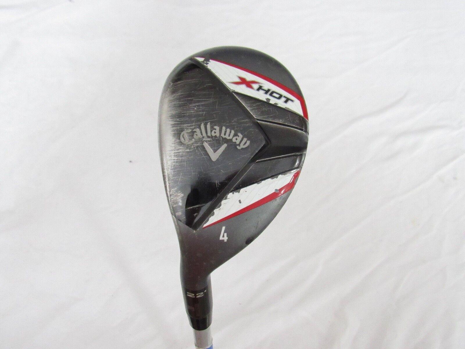 Callaway  X-Caliente usado 22 ° 4 híbrido Callaway X-Hot H-65g regular Flex de grafito  orden ahora con gran descuento y entrega gratuita