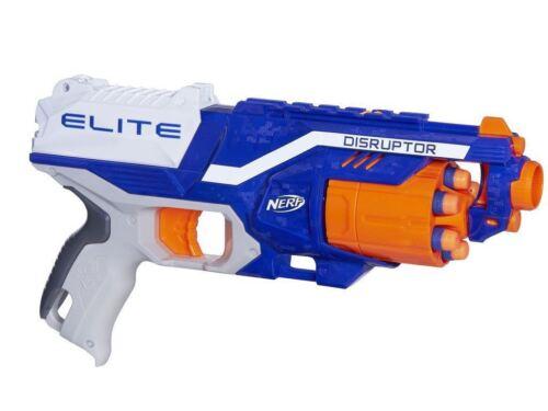 Nerf N-strike Elite 6 Dart Barril Giratorio Disruptor Rapid Fire Blaster