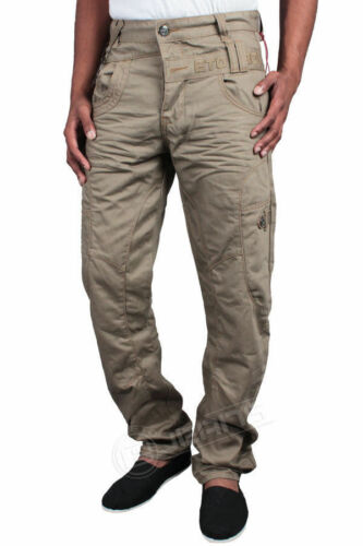 £44 Colour Mens 99 Chino Rrp Curved Beige In Eto Jeans Em282 Leg wqBa4