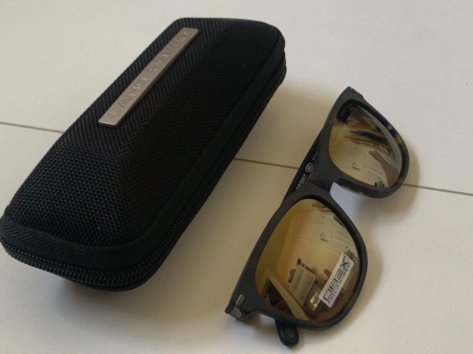 ** nuevo ** Land Rover caparazón de tortuga CAT3 100% UV Polarizado Gafas De Sol PVP: 125