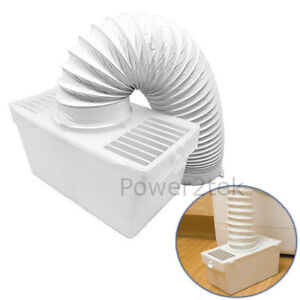 crosslee 84a Tumble Dryer New Attractive Appearance Condenser Vent Kit Box & Hose For White Knight