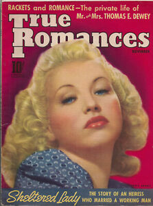 TRUE-ROMANCES-NOV-1939-BETTY-GRABLE-Photo-Cover-Lots-of-ads-some-color