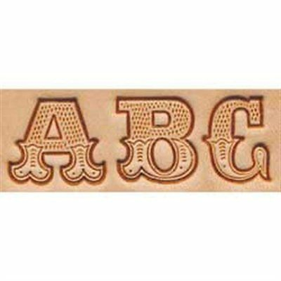 Leather Art Alphabet Set 8145-00 19 mm Tandy Leather Craftool 3//4