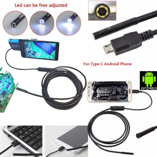 USB//Type C Wasserdichtes Endoskop Inspektion Kamera for Samsung S8 LG G5 G6 V20