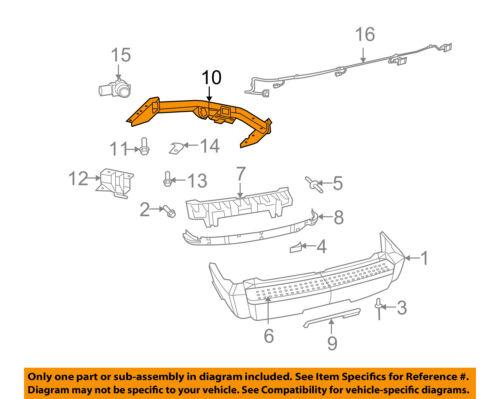 Dodge CHRYSLER OEM 07-11 Nitro Rear Bumper-Trailer Hitch 52109829AC